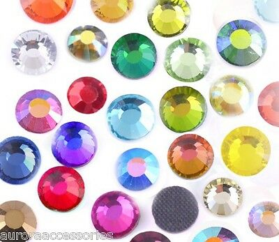 3mm Mixed Colour Pack - 144 pieces - Excellent Quality Hot Fix Crystal
