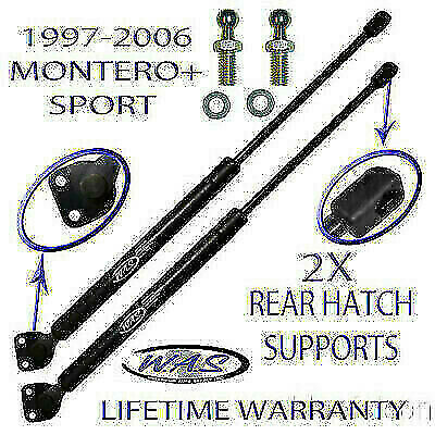 2 Rear Hatch Liftgate Lift Supports Shock Strut Arm Rod For 97-06 Montero +Sport
