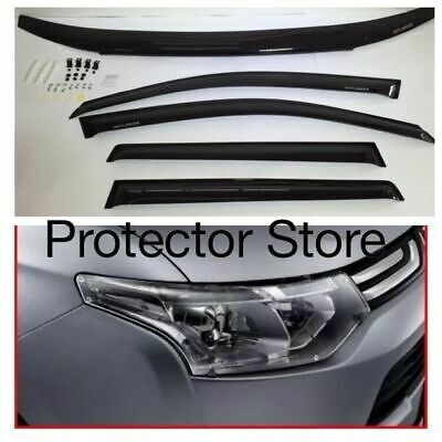 Mitsubishi Outlander ZJ ZK 2012-2016 Bonnet Protector, Weathershields & Light Co