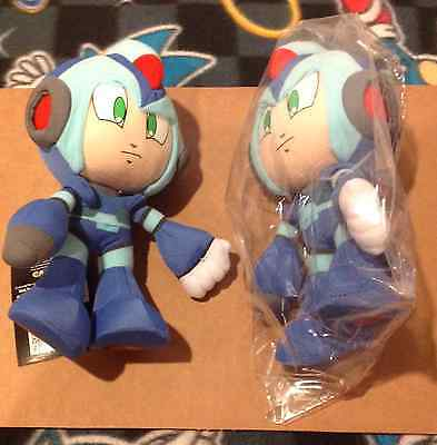 "Ships Same Day New GE Official Mega Man X 7"" Plush Doll Peluche Plüsch"