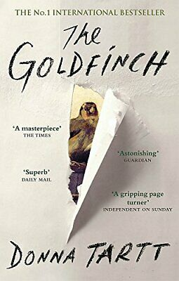The Goldfinch, Tartt, Donna Book The Cheap Fast Free Post