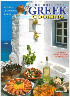 The Original Greek Cooking Paperback Book The Cheap Fast Free Post