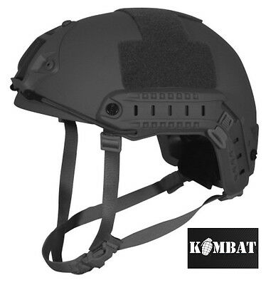 Army Combat Military Fast British Assault M88 US Swat Helmet Black Replica New