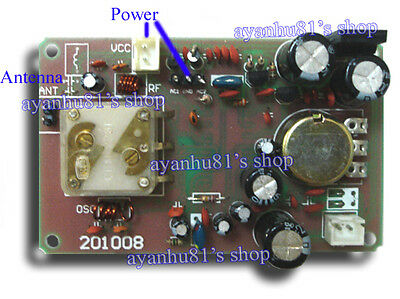 12V FM Radio Receiver Module 3W Mono Power W/ Mute Function 86-108MHz Adjustable