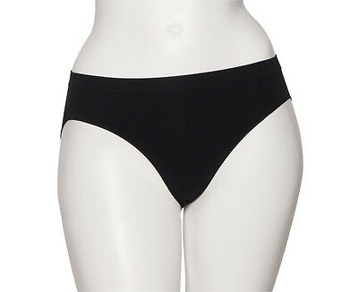 Ladies Girls Black Seamless Ballet Dance Underwear Briefs Pants Knickers By Katz