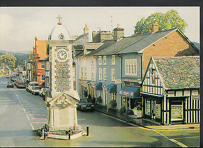 Wales Postcard - Rhayader Town Centre  LC5658