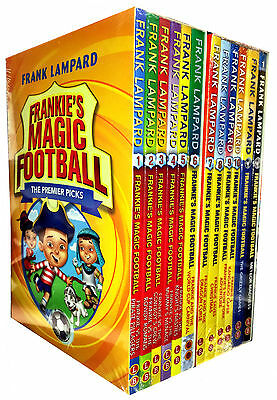 Frankie's Magic Football Series 1 & 2 Frank Lampard 12 Books Set Collection Pack
