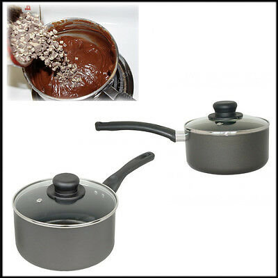 Non-Stick Saucepan with Lids 15cm,18cm Pendeford Classic Kitchen Collection