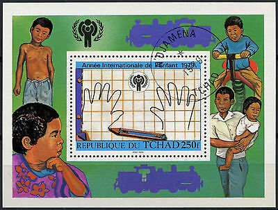 Chad 1979 SG#MS565 Year Of The Child Cto Used M/S #A92929