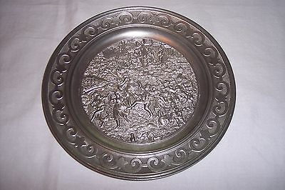 Pewter Plate - Sks Design- 95 % Zinn - Made W. Germany