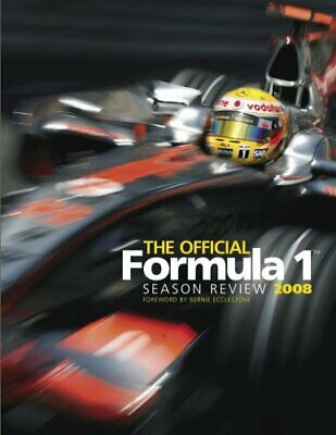 The Official Formula 1 Season Review 2008 Hardback Book The Cheap Fast Free Post