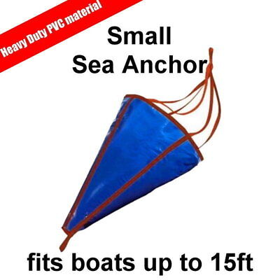 Sea Anchor Drogue Drifting Brake Suits Boats up to 15ft 4.5m - Small