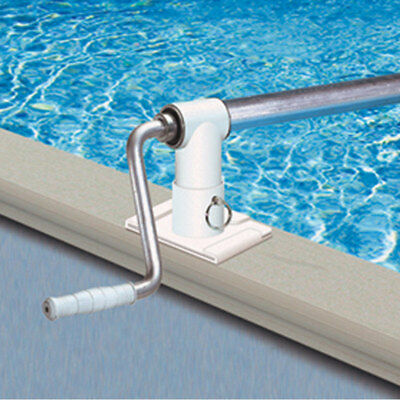 ABOVE GROUND SWIMMING Pool Cover Solar Reel Up To 24\' - $189.99 ...