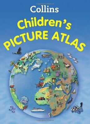 Collins Children's Picture Atlas, Collins Maps Book The Cheap Fast Free Post