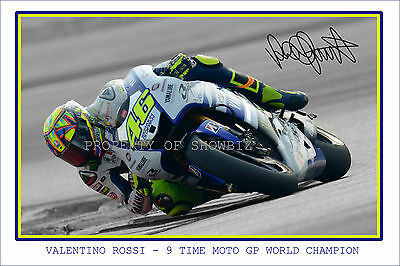 * Valentino Rossi * The Doctor * Signed Autographed Photo * Great Memorabilia *