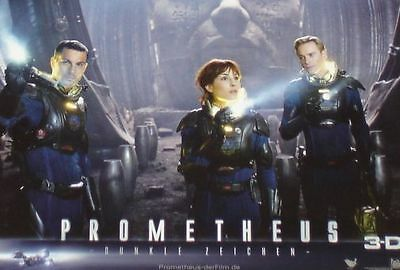 PROMETHEUS - Lobby Cards Set - Michael Fassbender, Charlize Theron, Noomi Rapace