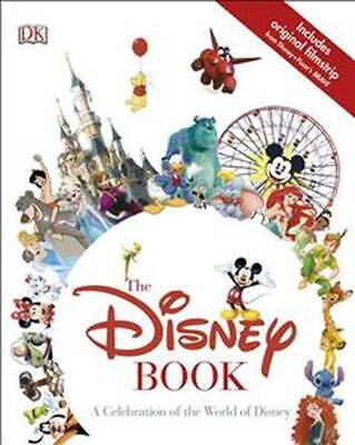 The Disney Book by Dk Hardcover Book