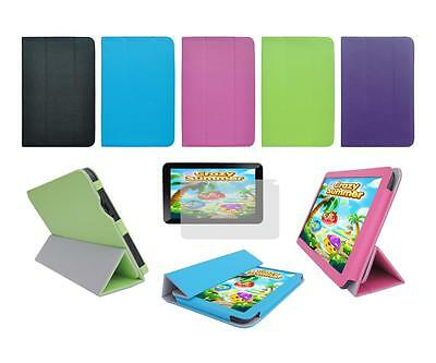 """Folio Skin Cover Case and Screen Protector for Trio Stealth G4 10.1"""" Tablet"""