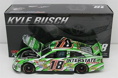 Kyle Busch #18 2014 Interstate Batteries Legacy 1/24 Scale In Stock Free Ship