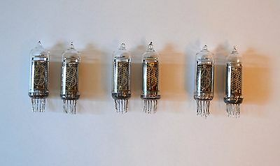 Lot of 6pcs IN-14 NIXIE TUBES GARANTY WORKING IN14