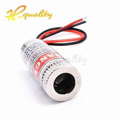 5mW Red Dot Adjustable Laser Module 650NM Focus Stripe Lens Laser Head