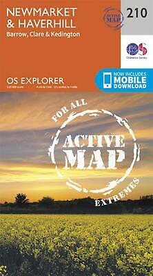 Newmarket and Haverhill, Barrow, Clare and Kedington by Ordnance Survey Free Shi