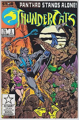 ThunderCats #3 - Star Comics / Marvel Comics 1986 - Siege in Silver and Stone