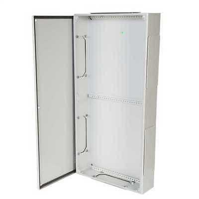 Schneider Electric Wall Steel Industrial Electrical IP55 Outdoor Fuse Enclosure