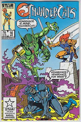 ThunderCats #10 - Star Comics / Marvel Comics 1987 - Graveyard of Memories