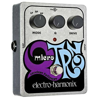 New Electro-Harmonix MICRO Q-TRON Envelope Filter Effects Pedal + Free Shipping