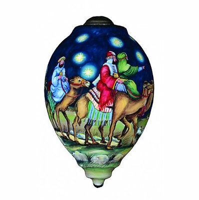 Oh Come Let Us Adrore Him Ornament Ne' Qwa Art Camels Wise Men Christmas Star