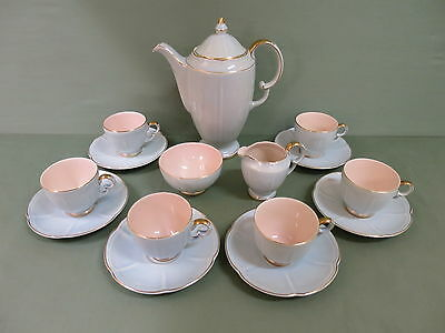 "Art Deco Crown Devon Coffee Set --"" Beverley "" Design.1930's."