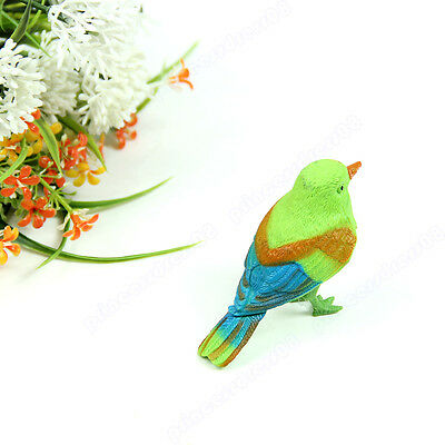 Pretty Cute Funny Sound Voice Control Activate Toy Gift Chirping Singing Bird