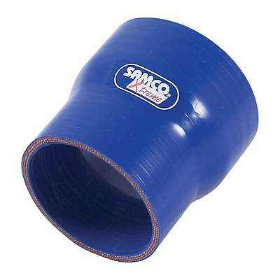 Samco Xtreme Straight Reducer Silicone Hose - 80mm to 70mm - Blue