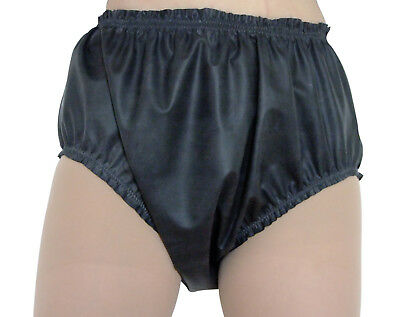 Rubber Pants Knickers Baggy Black Latex Waterproof Panties Roleplay