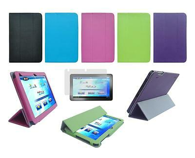 """Folio Cover Case and Screen Protector for Insignia Flex 10.1"""" NS-14T004 Tablet"""