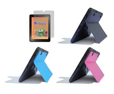 """Slim Folio Cover Case + Screen Protector for Insignia Flex 8"""" NS-15AT08 Tablet"""