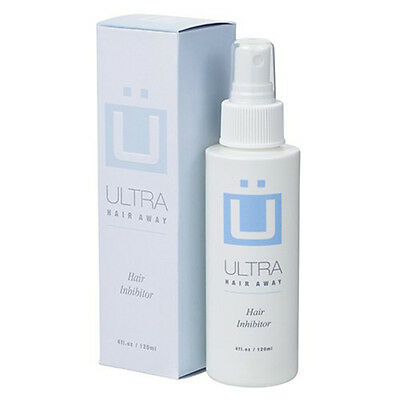 Ultra Hair Away Hair Removal System Permanent Hair Remover Bottle Spray - 120Ml