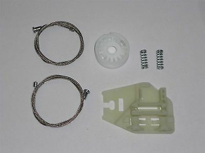 BMW E46 electric window winder regulator cables & clips / Rear Left - 1105