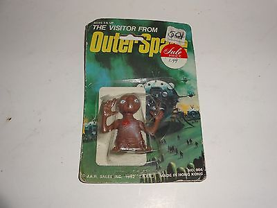 Vintage 1982 ET - Visitor From Outer Space - Figure