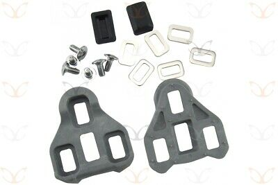 LOOK KEO Compatible Cleats, CarbonCycles 74 grams with Screws and Washers (Pair)