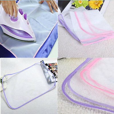 1X Protective Press Mesh Ironing Cloth Guard Protect Delicate Garment Clothes