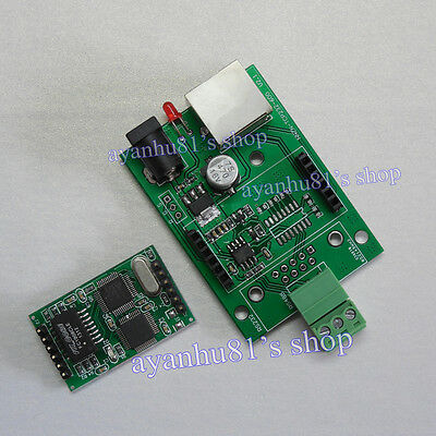 Serial RS485 to Ethernet TCP/IP Converter Adapter RJ45 Module Support MODBUS