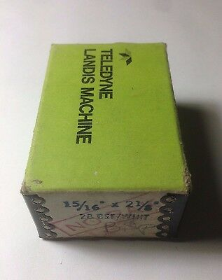 """LANDIS HSS Threading Chasers 15/16"""" X 2 1/8"""" 28 BSF/WHIT NO RAKE TAP 28BSF NEW"""