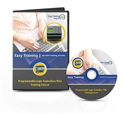 Programmable Logic Controller PLC Training Course CD-Rom (Book and Software) UK