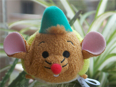 New Disney Authentic Tsum Tsum Gus Mouse CINDERELLA Mini Plush Toy