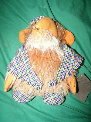 a womble cuddly toy