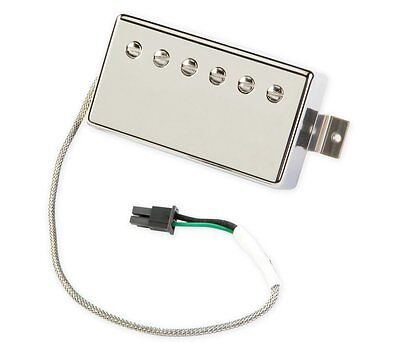 ~ Gibson Burstbucker Pro QUICK CONNECT Humbucker PICKUP Chrome Neck Les Paul