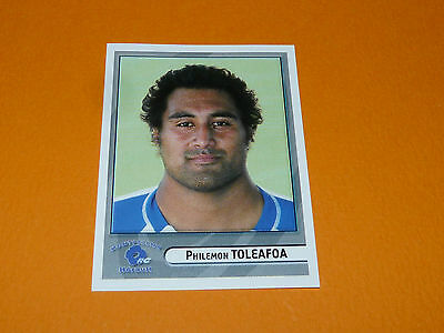 N°298 Toleafoa Montpellier Herault Rc Panini Rugby 2007-2008 Top 14 France