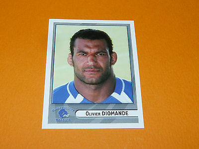 N°301 Diomande Montpellier Herault Rc Panini Rugby 2007-2008 Top 14 France